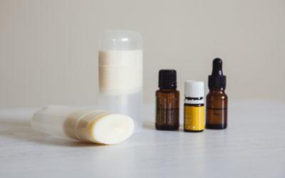 Organic deodorant recipe